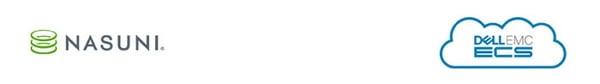 nasuni-emc-ecs-logos